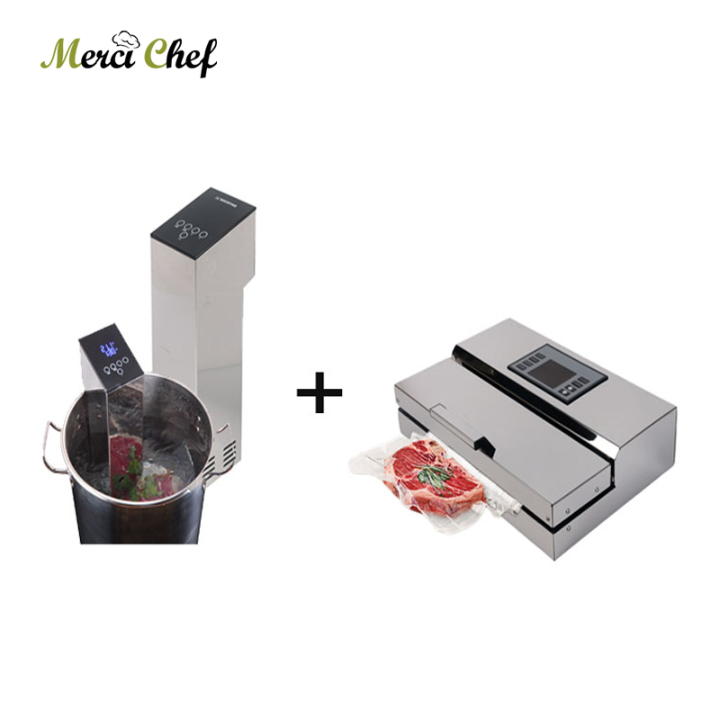 ITOP 1 Set Vacuum Food Processor Sealer + Sous Vide Make Food More Delicious Immersion Cooker household baby Food Vacuum Sealer