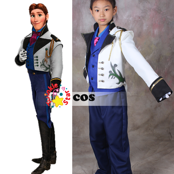 Prince Hans Kids Costume