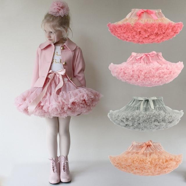 Casual Summer Wear Tutu skirt one piece retail girl skirt ball gown childrens tutu kids Hallowmas ballet skirt Princess party