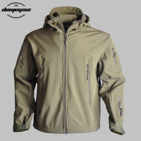 New Military Tactical Jackets Waterproof Outdoor Hunting Hiking Outerwear Jacket for Climbing Traveling Cycling Windproof Coats