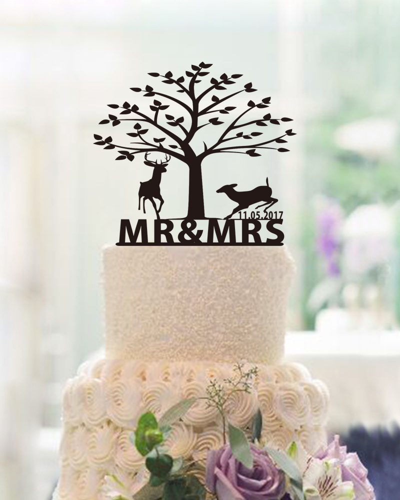 Cake Toppers For Weddings Party Decoration Acrylic Mr Mrs