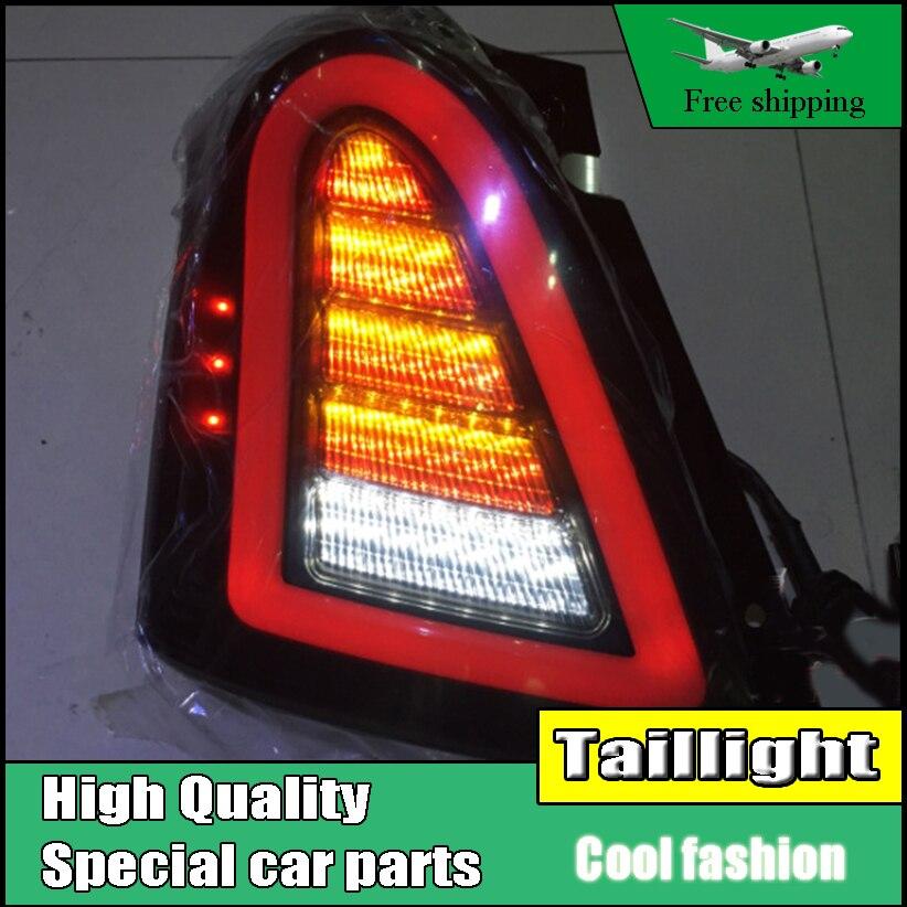 Стайлинга автомобилей хвост свет Чехол для Сузуки Свифт задние фонари 2005-2014 LED задний фонарь заднего лампы ДРЛ+Тормозная+Парк+сигнала
