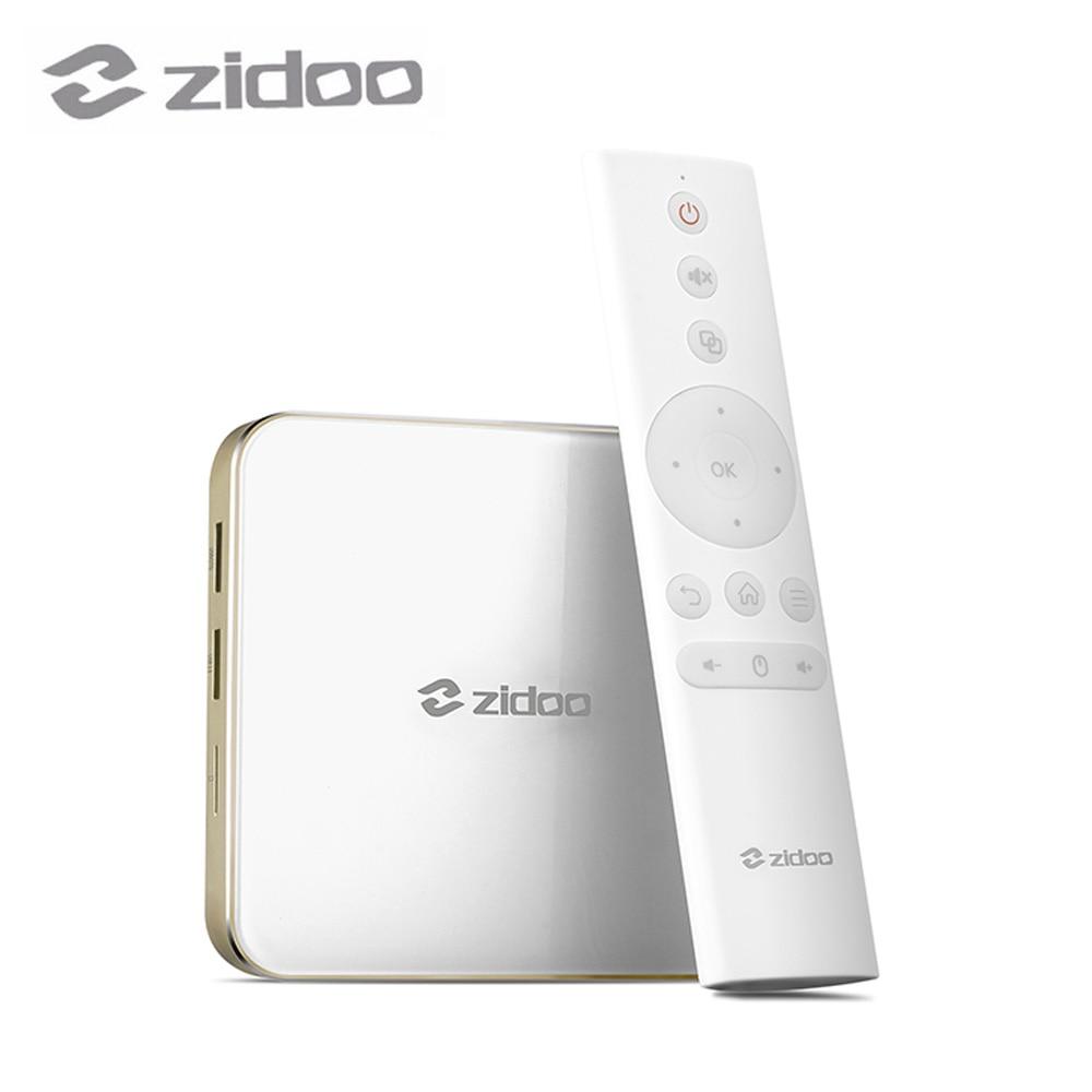 ZIDOO Android 7.0 TV Box 2GB DDR4 16GB eMMC Smart Color 3.0 WIFI Bluetooth BT4.1 H265 H6 PRO zidoo h6 pro tv box 2gb ram 16gb rom android 7 1 2 4g 5 0g wifi gigabit lan bluetooth 4 1 smart set top box