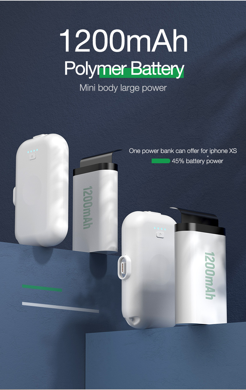 Magnetic Wireless Power Bank Portable Charger External Battery (9)