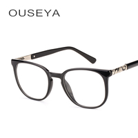 TR90 Óculos de Armação Mulheres Miopia Prescrição Óptica Óculos Grande  Quadro Quadrado Óculos   F19006 6fa79f6cf2
