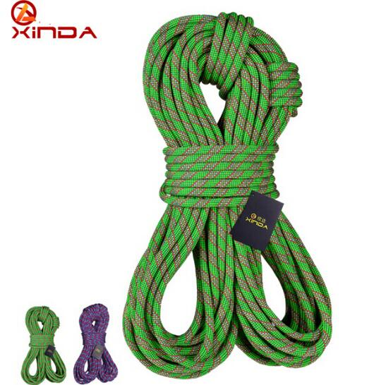 XINDA 10M Camping Mountain Safety Rock Rope climb Gear Equipment Dia 11mm 9.3KN