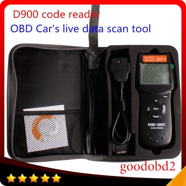 D900 CANBUS OBD2 Код Читателя OBD2 Живут PCM Код Чтения Данных Сканер Авто Код EOBD Диагностический Автомобилей Сканер d900