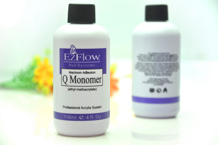 118ml Ezflow Nail System Liquid Professional Acrylic Q Monomer 4fl Oz Polish Remover X001 In From Beauty Health
