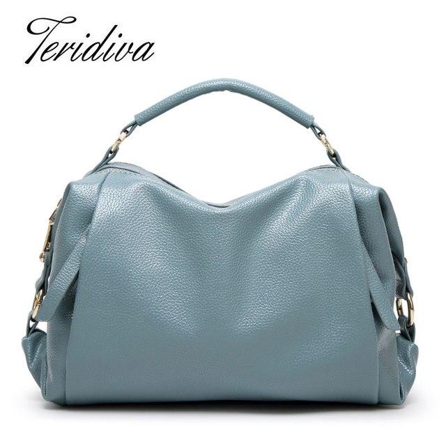 Sacos do desenhador bolsas de marcas famosas teridiva fe femme sac a principal marca de luxo mulheres bolsa de couro bolsas de ombro tote bolsa