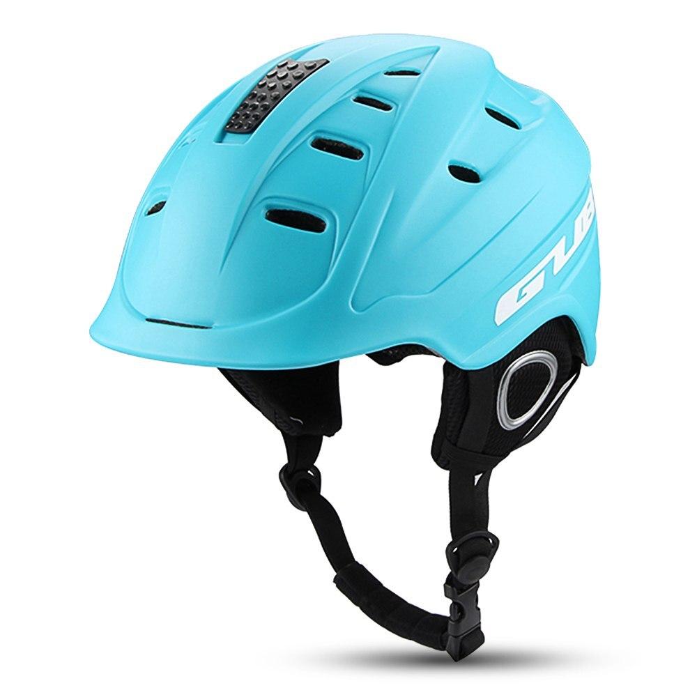 GUB casque de Sport de neige hiver coupe-vent cyclisme sécurité Sports de plein air lunettes ski Snowboard casque Ventilation réglable nouveau