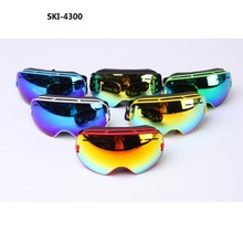 Kids Ski Goggles Double lens UV400 anti-fog ski glasses snow goggle changeable lens Girls Boys Snowboard goggles