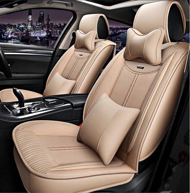 Bonne qualité et livraison gratuite! Ensemble complet de housses de siège de voiture pour Land Rover Range Rover Sport 2013-2007 mode respirant housses de siège