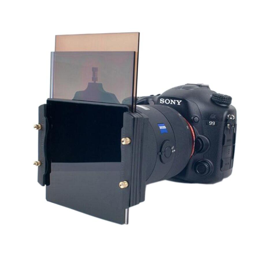 Soporte de filtro cuadrado Serie Z de 100mm + anillo adaptador de metal de 52-82mm para filtros Serie Haida Lee Hitech Cokin Z PRO 4X4