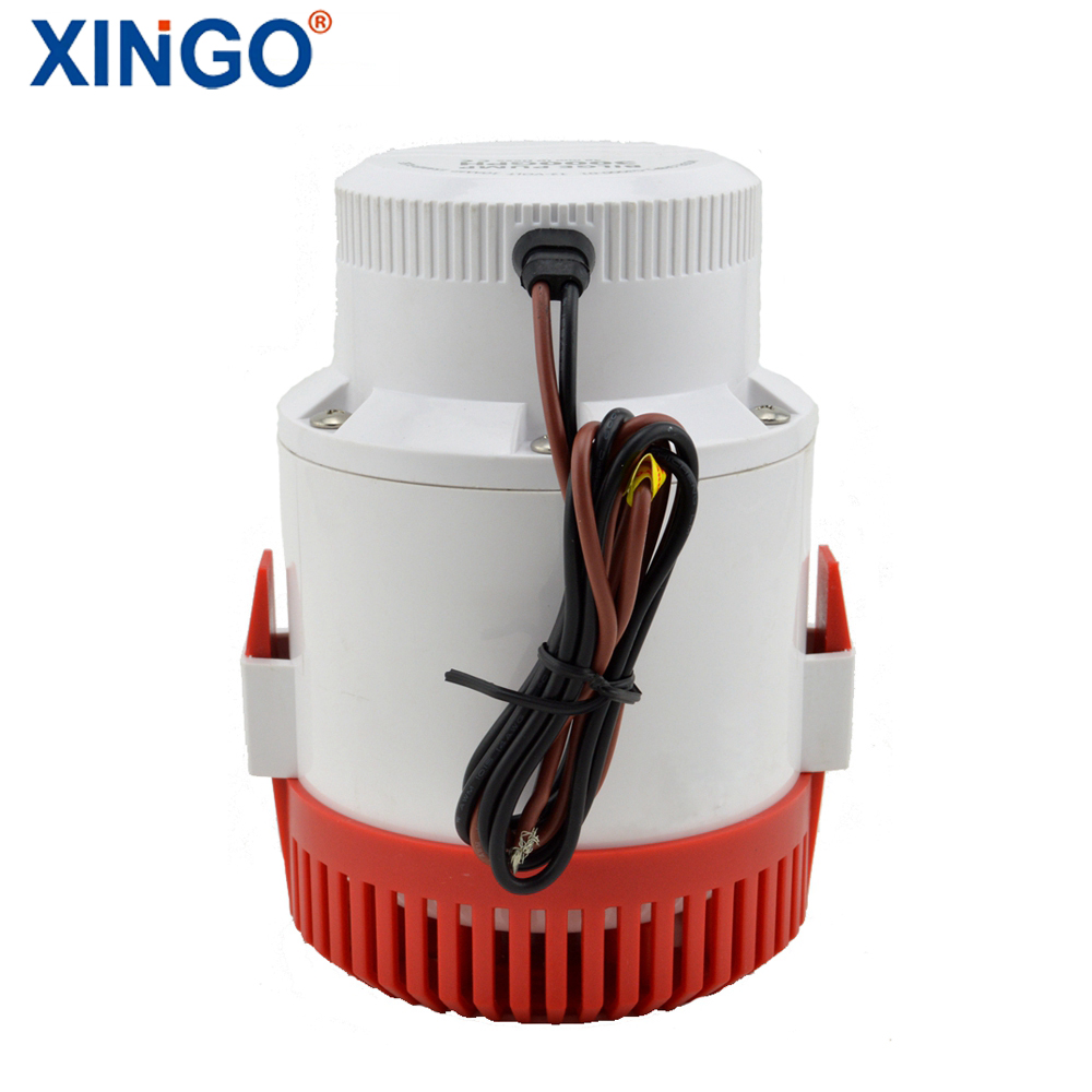 High Quality Water Pump 12V XG-G3000-01 Used in seaplane hydroplane houseboat free shipping 1100gph 12v high flow submersible used water in boat seaplane motor homes houseboat
