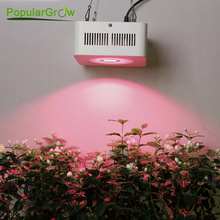 High Power Full Spectrum Led Grow Light 200W with COB reflector for Hydroponic Grow Box Medical plants supplemental lighting