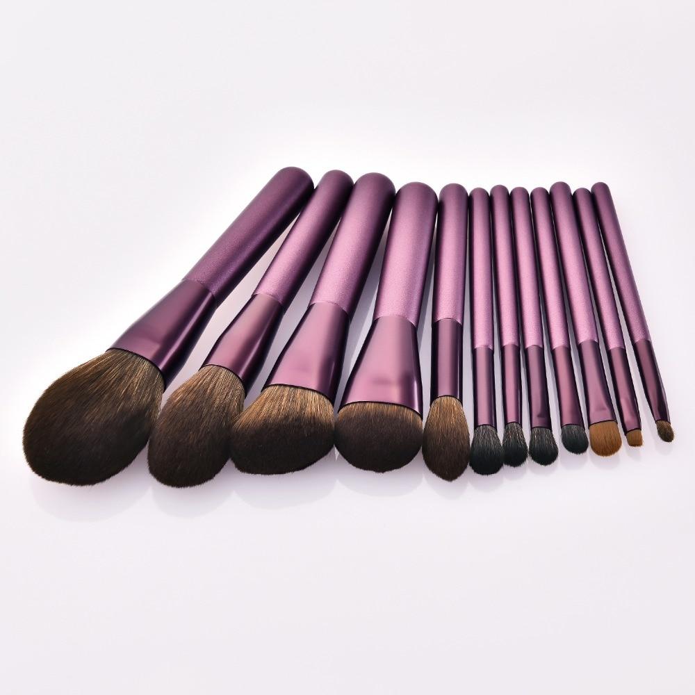 de ferramentas de maquiagem alça de madeira
