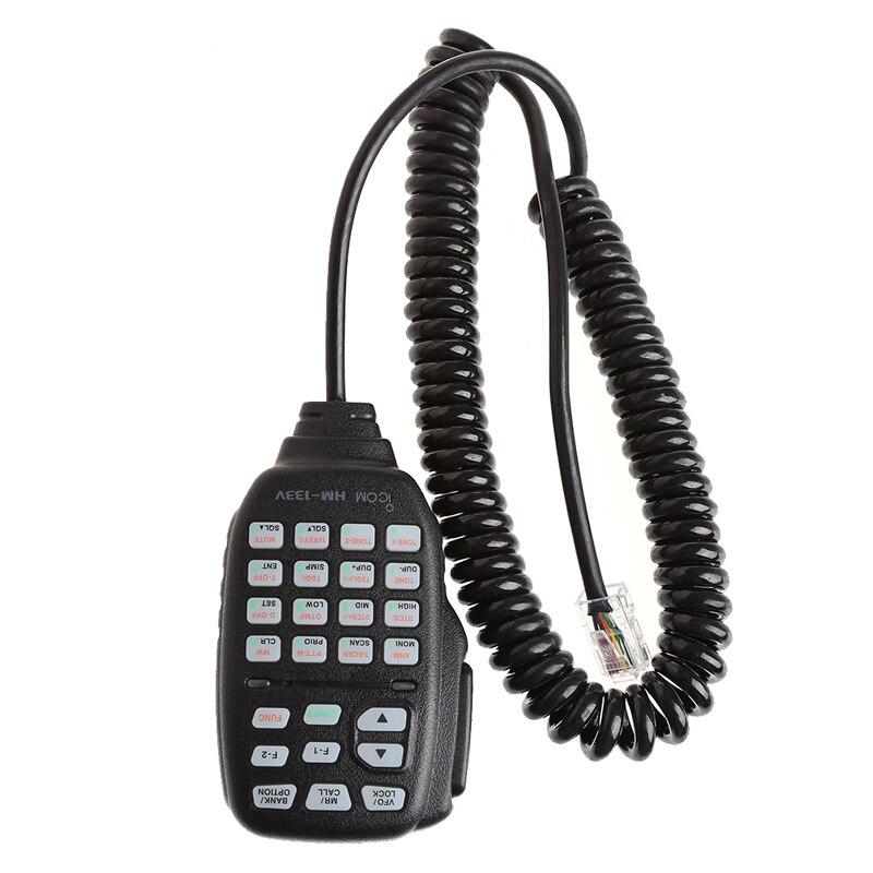 Portable DTMF Modular 8-Pin Remote Speaker Microphone Mic PTT HM-133V For ICOM