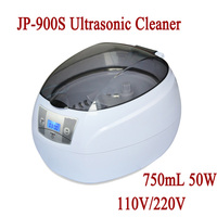 J063 Free Shipping JP 900s 750ml Mini Glasses Watch Jewelry CD Digital Ultrasonic Cleaner Bath