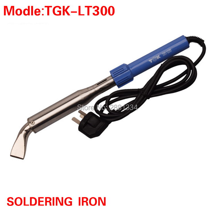 TGK- LT300 Nickel-Chromium Wire Heater Electric Soldering Iron 300W DIY High Power Temperature Repair Welding Iron Tool free shipping high power electric soldering iron bending welding head external heated type cj 505 300w