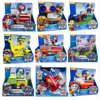 Genuine Paw Patrol RESCUE RACERS VEHICLE chase tracker Ryder everest skye apollo action Figure Children Birthday Christmas toy