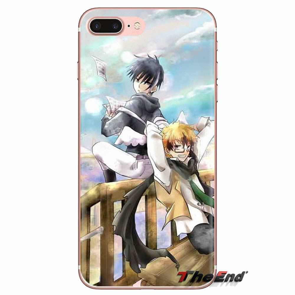 Cep telefonu Kapak Kuro Servamp Kuronyan Japonya manga Huawei Nova 2 Için 3 2i 3i Y6 Y7 Y9 Başbakan Pro GR3 GR5 2017 2018 2019 Y5II Y6II