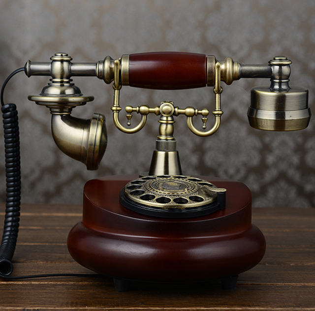 Fashion phone antique telephone vintage phone home phone fitted landline phone-in Telephones