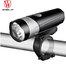 Wheel Up Cycling Light USB Rechargeable Bike Front Taillight Set Bicycle LED Waterproof Flashlight