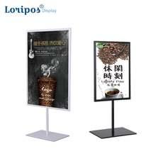 А3/А4 металлическая стойка для плакатов настольная меню рекламная