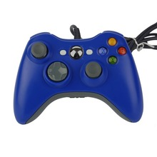 Плечи кнопки Улучшенный Эргономичный дизайн USB проводной джойстик геймпад контроллер для microsoft для Xbox 360 шт. для Windows 7