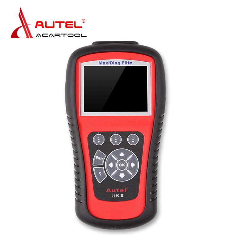 AUTEL MaxiDiag Elite MD802 for 4 System With Data stream Model Engine,Transmission,ABS and Airbag 4 in 1 Auto Code Scanner autel md801 pro 4 in 1 code scanner jp701 eu702 us703 fr704 maxidiag pro md 801 code reader