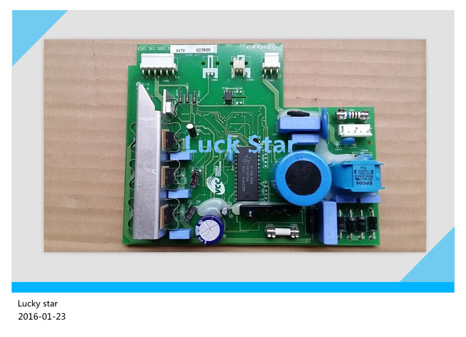 95% new for Haier refrigerator Frequency inverter board driver board BCD-518W 568W 43033033085.6 цена