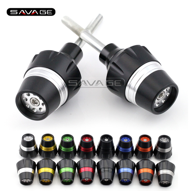 For SUZUKI GSR 400/600 GSR400 GSR600 2006-2010 Motorcycle Accessories Frame Sliders Crash Protector Bobbins Falling Protection