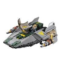 Lepin 05030 722PCS Star Wars Series Blocks Vinda Titanium Fighters VSA Wing Fighters Children Assembly Toys