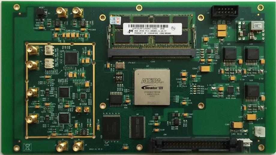 For 250M High Speed ADDA Data Acquisition Module FPGA Development Platform Altera Development Board
