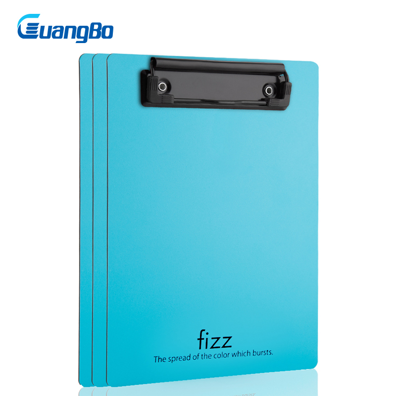 GUANGBO Students Pad Folder Patterned Cardboard Paper Clipboard Writing Drawing Tablet A5 plastic vertical board writing plate