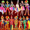 Clown Costume Amusement Park Performance Cosplay Clothing Kids Carnival Costumes Fancy Dress New Year Party Supplies