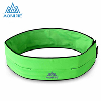 AONIJIE Running Belt Polyester Waist Pack Bag Hiking Marathon Running Gym Fitness Fanny Pack Hip Pouch Mobile Phone Pockets Case
