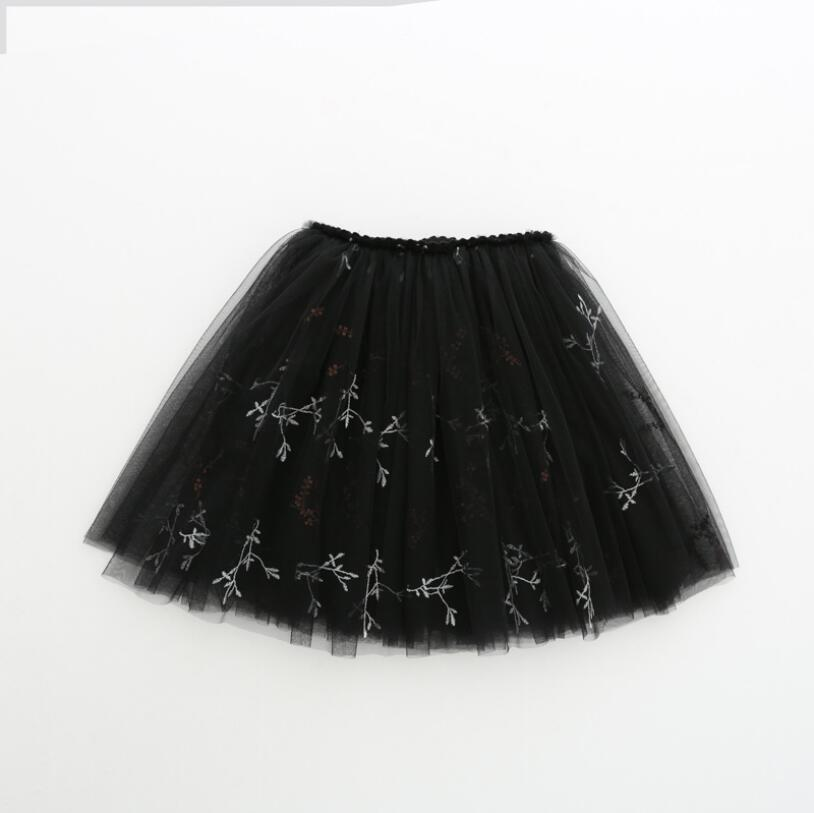 dd76dbf6c8b 2019 embroideried Girls Ballet Tutu Baby Little Flowers Girls Dance Skirts  Child Skirts Girls Fluffy Long Pettiskrit Baby -in Skirts from Mother    Kids on ...