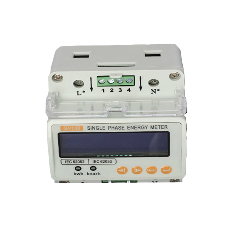 Offre spéciale monophasé Din-rail compteurs d'énergie 220 V 50 HZ courant tension puissance moniteur d'énergie LED affichage compteur d'énergie