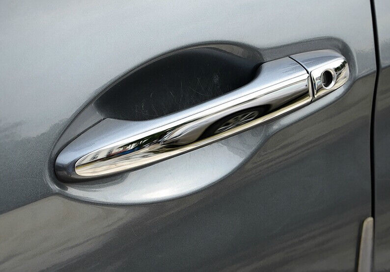 For 2012 2013 HONDA CIVIC Coupe Chrome 2 Door Handle Covers