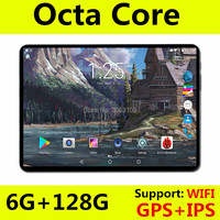 2019 Новые 10 дюймов 4 г FDD LTE планшеты Octa Core 1280*800 ips экран 6 ГБ оперативная память 128 Встроенная Android 8,0 gps 10,1 подарки