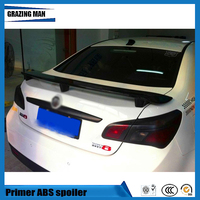 ABS Primer Unpainted Color Rear Trunk lip Spoiler Fit For MG6 MG 6 2010 2015