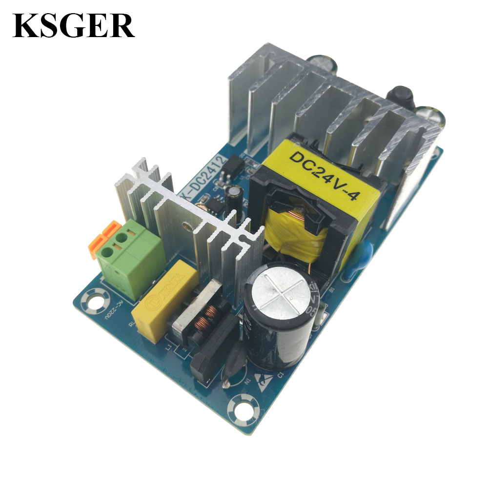 KSGER Power Supply Board DIY Kits 72W24V4A Switching AC-DC Voltage  Converter T12 Welding Tools Electronic Iron Soldering Station
