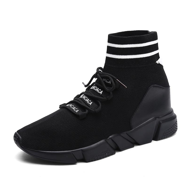 Plein High Étanche Dentelle Cheville Appartements Chaussette Homme Air Mode Hommes Chaussures Gs8898b En De Up Respirant Top Gs8898 gs8898r Sneakers Casual xqwFBP0An