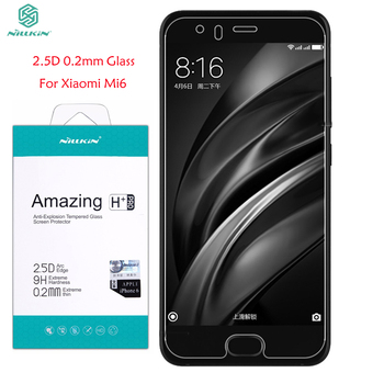Screen Protector For Xiaomi Mi6 Tempered Glass Nillkin Amazing H+PRO 9H 2.5D 0.2mm Glass For Xiaomi Mi6 M6