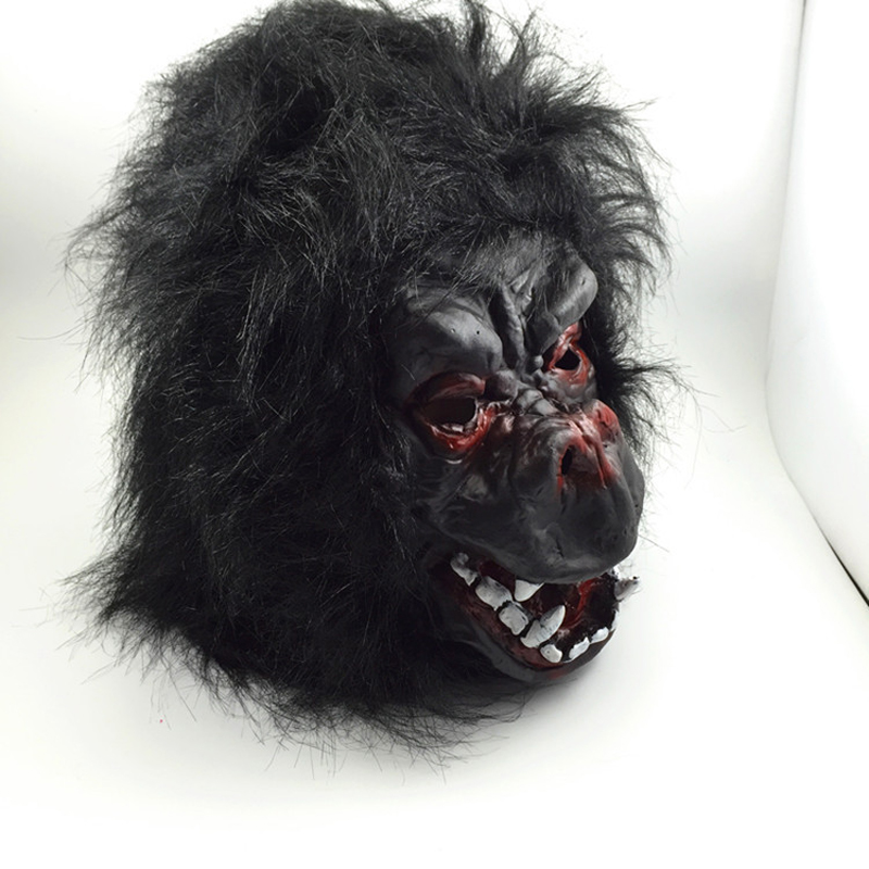 Aliexpress.com  Buy Halloween animal latex mask chimpanzee performance costume adult gorilla head glove sets of three sets of gloves free shipping from ...  sc 1 st  AliExpress.com & Aliexpress.com : Buy Halloween animal latex mask chimpanzee ...