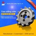 Применимые вставки PNMU1205ANER Индексируемые фрезерные инструменты фреза для лица AF10.12C40.160.12