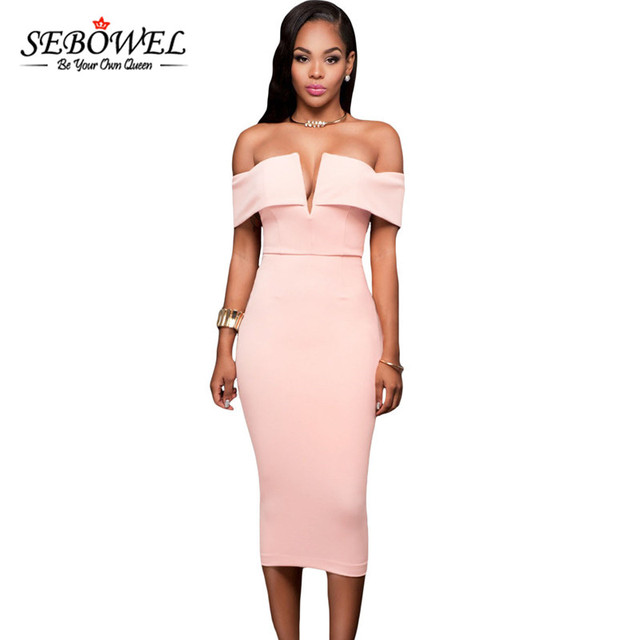 Sebowel tamaño más mujeres vestido de verano 2018 sexy V ...