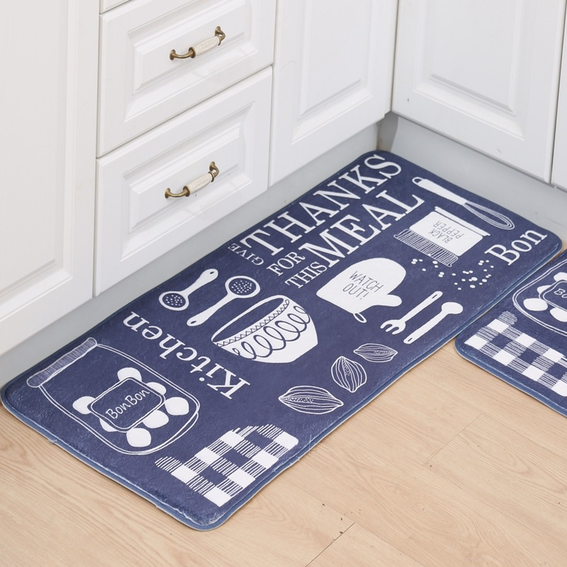 long kitchen mat antislip bathroom carpet absorb water kitchen carpet home entrance doormat bathroom rugs home decor - Bathroom Carpet