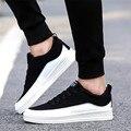 Alta Calidad de Los Hombres Casual Hombres Zapatos de Moda Zapatos de Los Planos Cómodos Suaves Hombre Caminando Zapatos Zapatillas Hombre